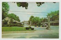 Unused Postcard Hollyhill Motel Lebanon Kentucky KY