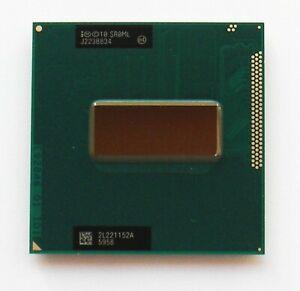 Intel i7-3720QM Processor SR0ML to 3.6GHz 6MB CACHE QUAD CORE 8 THREADS