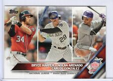 BRYCE HARPER N L Home Run LEADERS 2016 TOPPS SERIES 1 #337, FREE SHIP