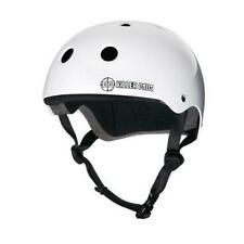 187 Pro Helmet White Gloss Skate Scooter Roller Quad Free Post