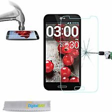 3x PELL PROTETTIVA DISPLAY GLASS VETRO TEMPERATO per LG OPTIMUS PRO G E985