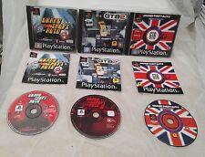 GTA PS1 Paquete!!!!! todos los juegos de 3 en un solo lugar!!! Boxeo Original Con Manuales