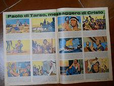 corriere dei piccoli  SAN PAOLO DI TARSO dessins HUGO PRATT originale '60