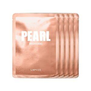 Lapcos Pearl Sheet Mask 5 pack