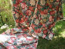 Chintz cotton fabric.
