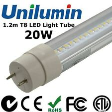 5 x LED T8 Light Tube 1.2m 20W Fluorescent Lamps Nature White