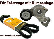 Riemenspanner + Keilrippenriemen Spanneinheit Spannrolle Spannelement 6DPK1195