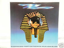 "ZZ Top - Sleeping Bag 12"" Single 1985 / Stereo"