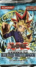 Yu-Gi-Oh BLUE EYES WHITE DRAGON 2 COUNT LOT UNLIMITED EDITION  FREE SHIP
