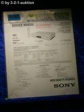 Sony Service Manual SLV SE220 SE420 SE620 SE720 SE727 SE820 SX720 SX727 (#5182)