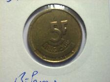 5 francs Belgique 1986