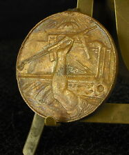 Médaille militaire égyptienne inscriptions en arabe Egypt Egypte Medal