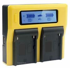 Patona dual LCD batería cargador para Fujifilm np-w126s finepix hs30 exr hs30ex