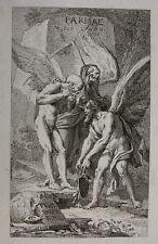 BENIGNO BOSSI ´ALLEGORIE DER ZEIT; ALLEGORY OF TIME; CHRONOS, TOD, DEATH; 1785