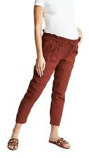 Hatch Maternity Women's THE PAPERBAG PANT Rust Size 0 (XS/0-2) NEW