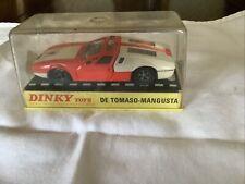 Dinky De Tomaso-mangusta In Original Box