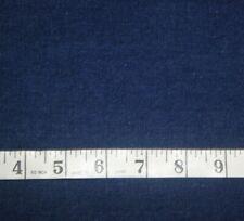"1+ Yards Dark Blue Denim Cotton Fabric 48"" X 44"""