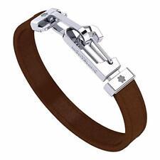 Montblanc Mens Brown Leather 68 Bracelet 12382268...