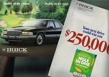 1991 Buick Brochure with PGA: REATTA,RIVIERA,PARK AVE,ROADMASTER,SKYLARK,REGAL,