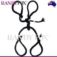NEW PipeDream Fetish Fantasy Silk Bondage Rope Hog Tie Set