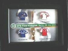 DFB POKAL ENDSPIELSET- FINALE 28.5.2005 BERLIN-FC SCHALKE 04-FC BAYERN MÜNCHEN-