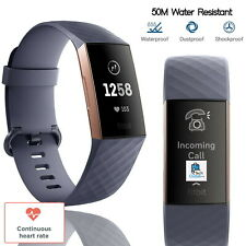 Fitbit Charge 3 Advanced Fitness Tracker Heart Rate Swim Tracking Waterproof