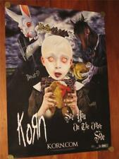 """KORN - HAND SIGNED """"SEE YOU ON THE OTHER SIDE"""" 18"""" X 24"""" POSTER"""
