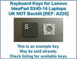 Keyboard Keys for Lenovo IdeaPad S340-14 Laptops UK NOT Backlit [REF: A225]