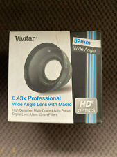 Vivitar 52 mm 0.43x Professional Wide Angle Lens with Macro