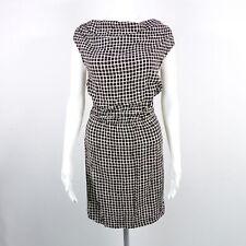 LIU JO JEANS Kleid Gr. IT 38 DE 34 schwarz gemustert Damen Business Dress Robe