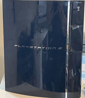 Sony PlayStation 3 CECH-G03 Console - Black - FAULTY!  FOR PARTS OR REPAIR