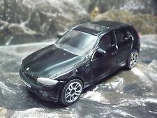 64  Majorette® Maßstab 1:58 BMW Serie 1 schwarz  Neuware
