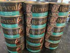 New listing Reveal (24) Tuna Fillet in Broth Can Cat Food 100% Grain Free 12/21/2021-1/2022