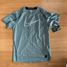 NIKE PRO COOL GREY GYM COMPRESSION SHIRT SIZE SMALL BRAND NEW READ