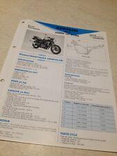 Kawasaki 500 ER-5 ER5 A B 97 A1 B1 98 A2 B2 Fiche technique moto RMT ETAI