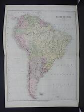 Black's 1876 Atlas, Map, South America, M2#26