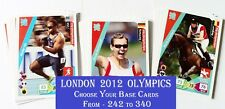 Choose Adrenalyn Xl London 2012 Olympic Base Cards From: 242 to 340 Panini