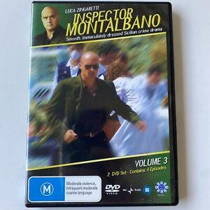 Inspector Montalbano : Volume 3 (DVD) Australia Region 4 - RARE