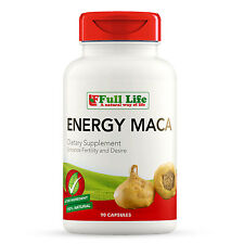 Full Life Energy MACA Supplement - 90 Capsules – Natural Energy & Libido Booster