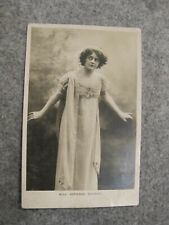 1906 fr real photo postcard - Edwardian Actress - Miss Adrienne Augarde