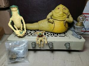 Vintage Kenner Star Wars Jabba The Hutt Playset 1983 with Amanaman addtl parts