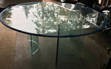 78 inch round 3/4 inch thick beveled glass conference or dining table