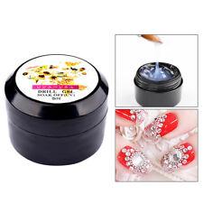 8ML Clear Nail Art Glue UV Gel Rhinestone Manicure Sticking Adhesive Decoration