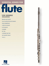 """ESSENTIAL SONGS FOR FLUTE"" MUSIC BOOK-BRAND NEW ON SALE-130 SONGS-SONGBOOK!!"