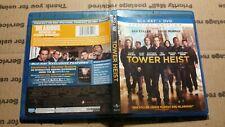 Tower Heist (Blu-ray, 2012) Alan Alda, Ben Stiller, Casey Affleck, Eddie Murphy