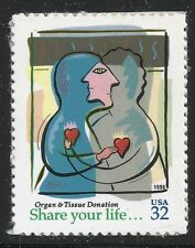 US Scott #3227, Single 1998 Organ Donation 32c VF MNH