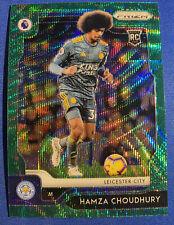 Hamza Choudhury RC 2019-20 Green Wave Prizm Leicester City