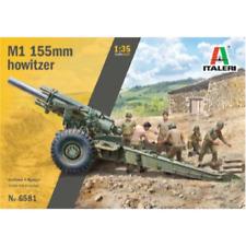 Italeri 1/35 M-1 155mm With Gun Crew 6 Figures Included