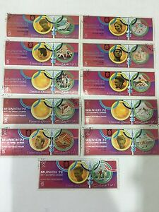 UMM AL QIWAIN UAE 72 MUNICH SAPPORO OLYMPIC GAMES 21 STAMPS C/T/O