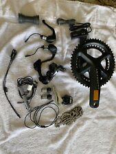Shimano Ultegra R8050 Di2 TT upgrade kit + crankset + cassette
